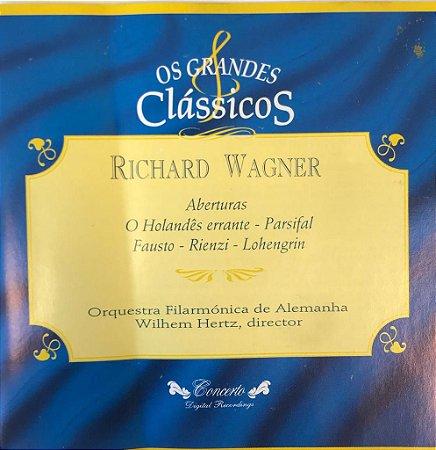 Richard Wagner - Oberturas de: El Honsdés Errante - Parsifal / Fausto - Rienzi - Lohengrin -- Os Grandes Clássicos