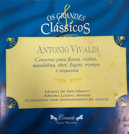 Antonio Vivaldi - Conciertos Para Flauta, Violín, Mandolina, Aboe, Fagot, Trompa Y Orquesta