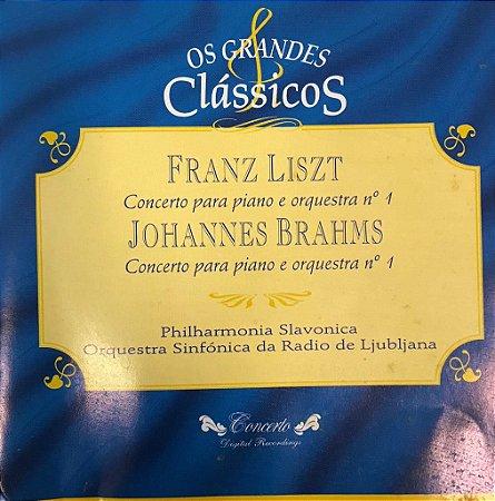 CD - Franz Liszt - Concierto Para Piano Y Orquesta N.1 / Johannes Brahms - Concierto Para Piano Y Orquesta N.1