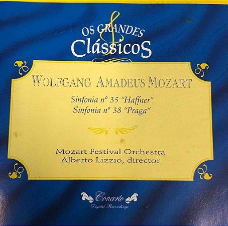 """Wolfgang Amadeus Mozart - Sinfonia N.35 """"Haffner"""" / Sinfonia N.38 """"Praga"""" - Mozart Festival Orchestra - Alberto Lizzio, director -- Os Grandes Clássicos"""