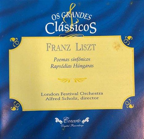 Franz Liszt - Poemas Sinfónicos Rapsódias Húngaras - Os Grandes Clássicos