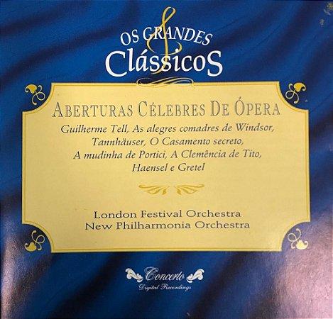 Various - Aberturas Célebres De Ópera - London Festival Orchestra New Philharmonia Orchestra / Os Grandes Clássicos