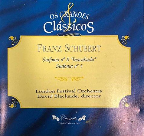 "CD - Franz Chubert - Sinfonia N.8 ""Inacabada"" - Sinfonia N.5 / Os Grandes Clássicos"