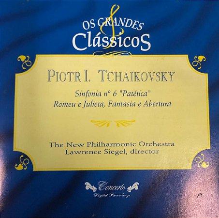 """CD - Piotr I. Tchaikovsky - Sinfonia N.6 """"Patética"""" - Romeu E Julieta, Fantasia e Abertura / Os Grandes Clássicos"""