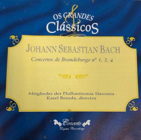 Johann Sebastian Bach - Concertos de Brandeburgo N. 1,2,4