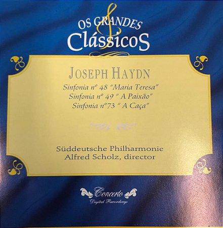 """Joseph Haydn - Sinfonia N.48 """"Maria Teresa"""" - Sinfonia N.49 """"A Paixão"""" - Sinfonia N.73 """"A Caça"""" - Os Grandes Clássicos"""