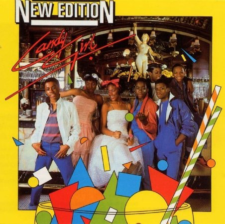 LP - New Edition ‎– Candy Girl