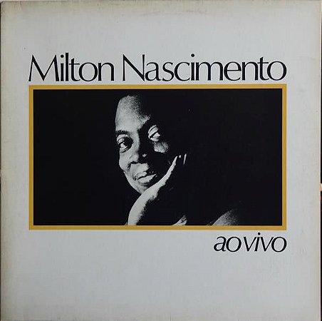 LP - Milton Nascimento – Ao Vivo