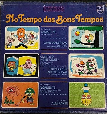 LP - No Tempo Dos Bons Tempos - BOX - 5 discos