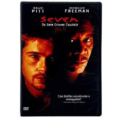 DVD - Seven - Os Sete Crimes Capitais