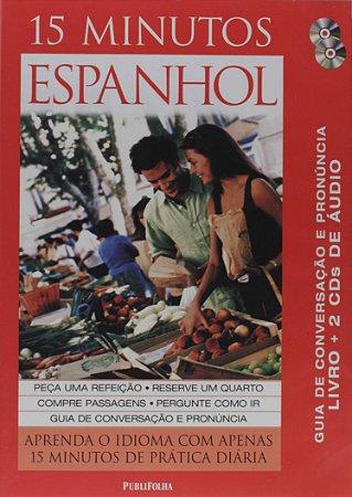 DVD - 15 Minutos Espanhol - Aprenda O Idioma - Publifolha