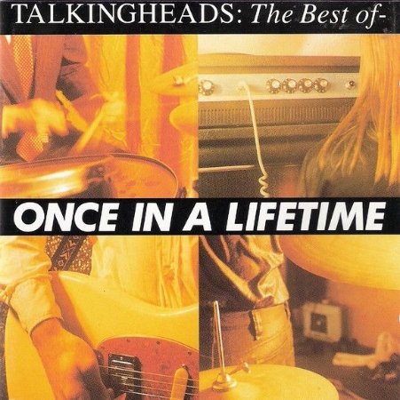 CD - Talking Heads ‎– Once In A Lifetime - The Best Of