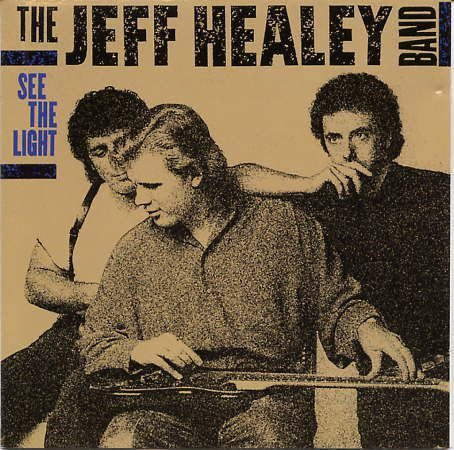 CD - The Jeff Healey Band – See The Light - IMP