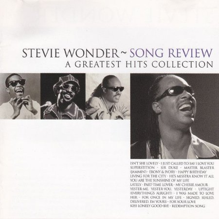 CD - Stevie Wonder ‎– Song Review (A Greatest Hits Collection)