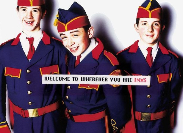 CD - INXS – Welcome To Wherever You Are
