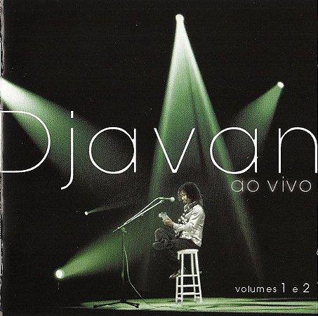 CD - Djavan – Ao Vivo - Volumes 1 E 2