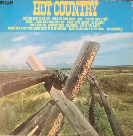 LP - Various – Hot Country