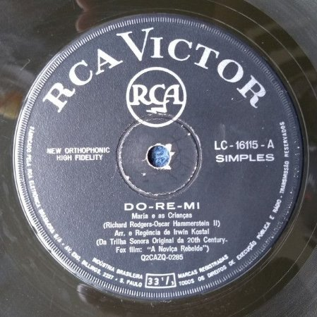 Compacto - The Sound of Music – A Noviça Rebelde - Soundtrck 20th Century Fox