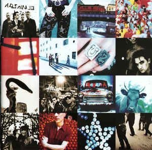 CD -  U2 – Achtung Baby