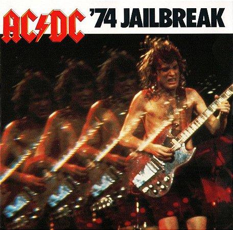 CD - AC/DC – '74 Jailbreak ( sem contracapa)