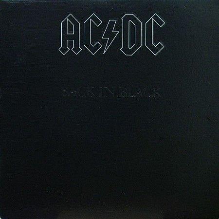 CD - AC/DC – Back In Black - sem contra capa