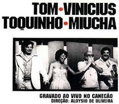 CD - Tom - Vinicius - Toquinho - Miucha – Gravado Ao Vivo No Canecão ( Sem contracapa)