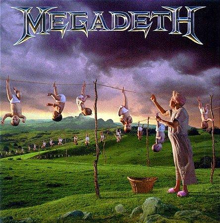 CD - Megadeth – Youthanasia