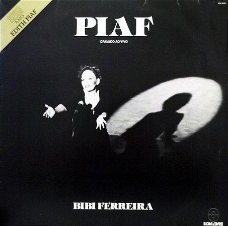 CD - Bibi Ferreira - Edith Piaf - Piaf - Gravado Ao Vivo