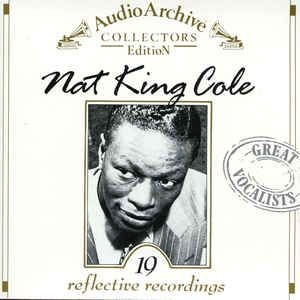 CD - Nat King Cole ‎– 19 Reflective Recordings - IMP