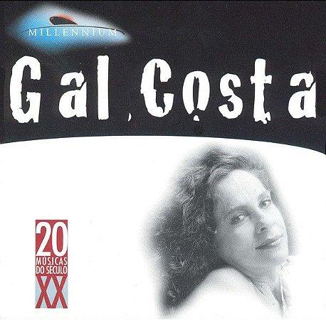 CD - Gal Costa – Millennium - 20 Músicas Do Século XX