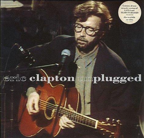 CD - Eric Clapton – Unplugged (sem a contracapa)