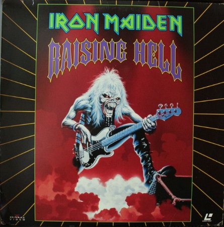DVD - Iron Maiden - Raising Hell - lacrado - Importado