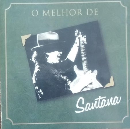 CD - Santana - O Melhor de Santana