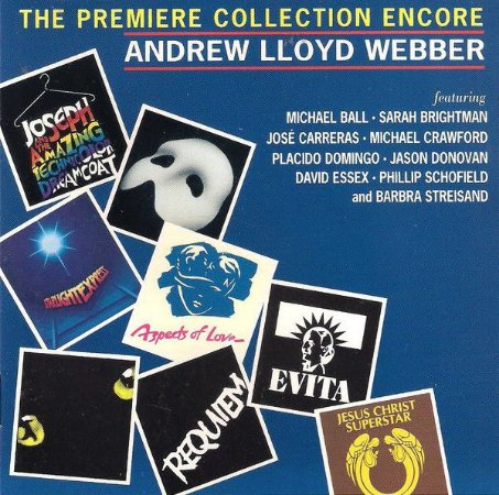 Various - Andrew Lloyd Webber ‎– The Premiere Collection Encore