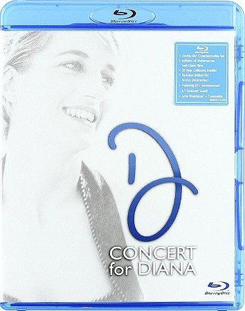 Blu-ray - Concert For Diana - BluRay ( Novo - Promo)