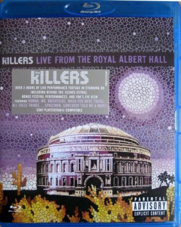 Blu-ray - The Killers - Live From the Royal Albert Hall ( Lacrado - Promo)