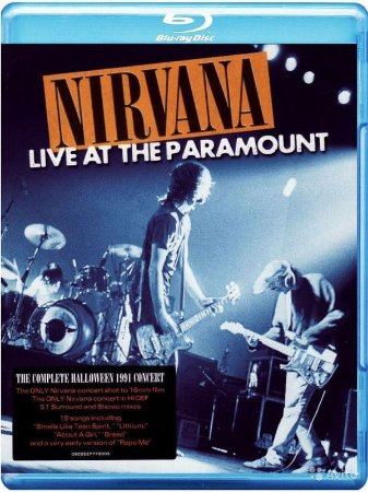 Blu-ray - Nirvana - Live at Paramount (Lacrado - Promo)