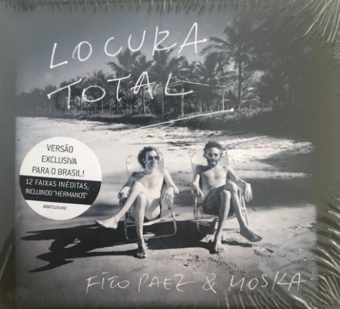 CD - Fito Paez & Moska: Locura Total (Lacrado) - Digipack