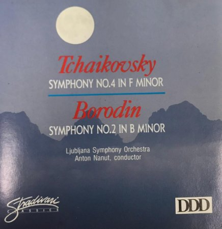 CD - Tchaikvosky - Symphony No.4 In F Minor / Borodi - Symphony No.2 In B Minor
