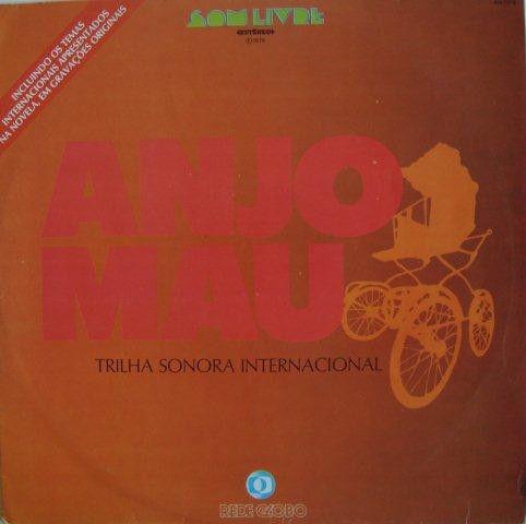 LP - Anjo Mau Internacional (Novela Globo)