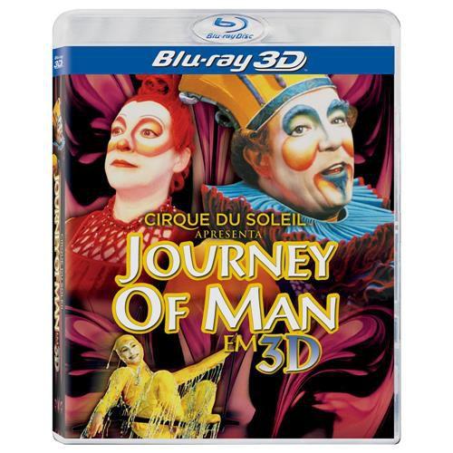 Blu-ray - Cirque Du Soleil: Apresenta Journey Of Man Em 3D (Novo)