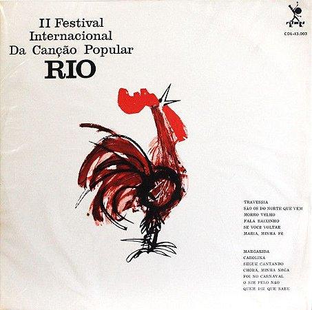 LP - II Festival Internacional Da Canção Popular Rio (Vários Artistas)