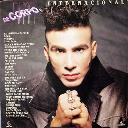 LP - Various – De Corpo E Alma (Trilha Internacional Da Novela)