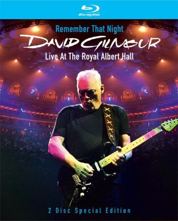 David Gilmour – Remember That Night (Live At The Royal Albert Hall) - (Digipack)