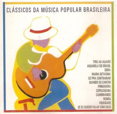 CD – Clássicos Da Música Popular Brasileira