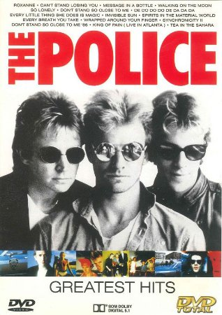 DVD - The Police – Greatest Hits