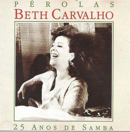 LP - Beth Carvalho – Pérolas - 25 Anos De Samba