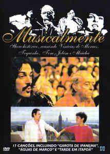 DVD - Musicalmente Vinicius De Moraes / Toquinho / Tom Jobim / Miucha - PREÇO PROMOCIONAL