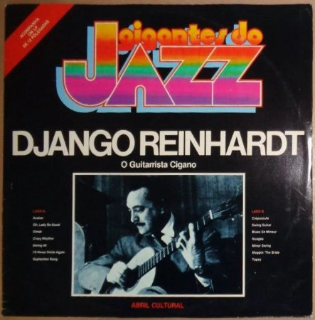 LP - Django Reinhardt – O Guitarrista Cigano