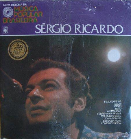 LP - Various – Nova História Da Música Popular Brasileira - Sérgio Ricardo
